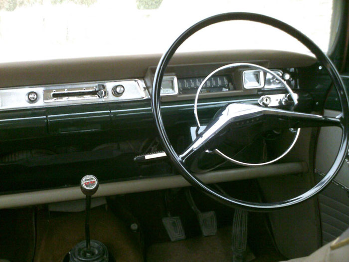 1964 ford consul capri 1500 dashboard