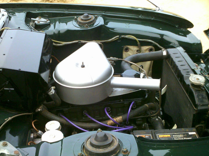 1964 ford consul capri 1500 engine bay