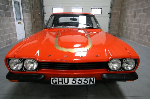 1974 ford capri mk1 rs3100 front