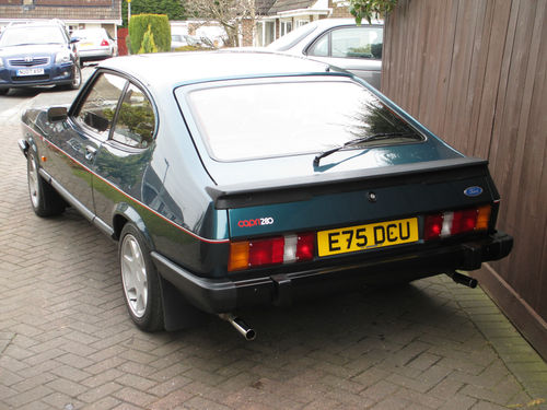 1987 Ford Capri 280 Brooklands 2.8i Back