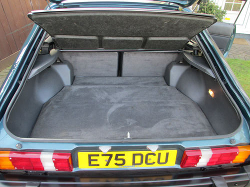 1987 Ford Capri 280 Brooklands 2.8i Boot