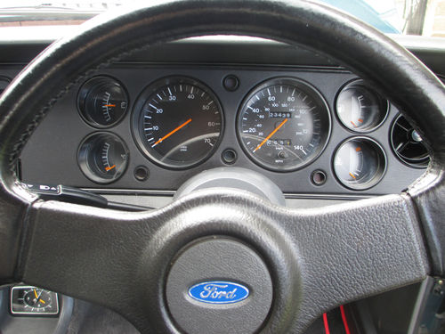 1987 Ford Capri 280 Brooklands 2.8i Dashboard Gauges