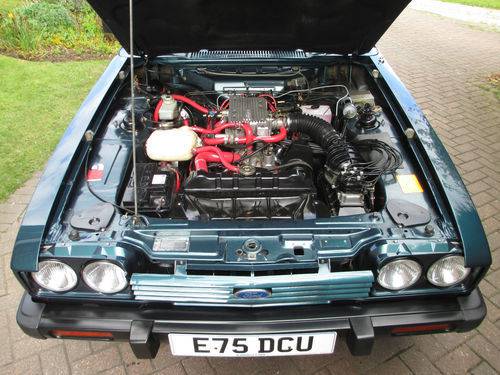 1987 Ford Capri 280 Brooklands 2.8i Engine Bay