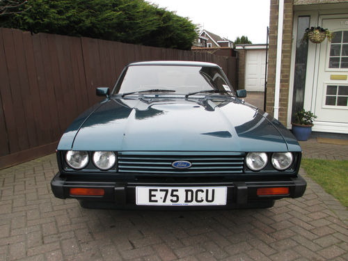 1987 Ford Capri 280 Brooklands 2.8i Front