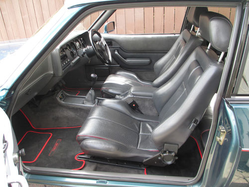 1987 Ford Capri 280 Brooklands 2.8i Interior 1