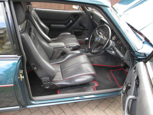 1987 Ford Capri 280 Brooklands 2.8i Interior 2