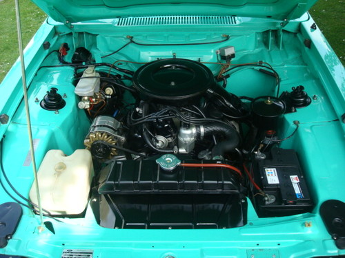 1978 Ford Capri Mk3 3.0S Engine Bay