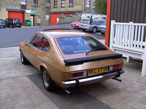 1976 ford capri ii ghia auto gold manual 2