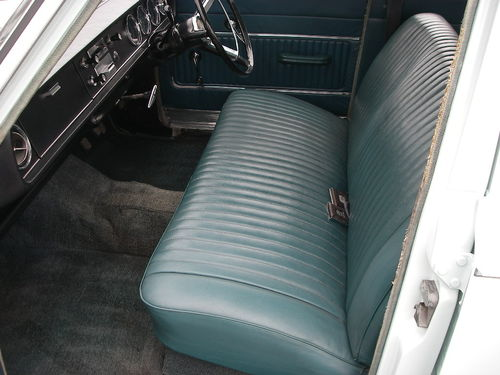 1966 Ford Corsair 1.7 Front Interior