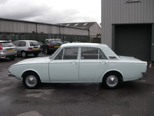1966 Ford Corsair 1.7 Left Side