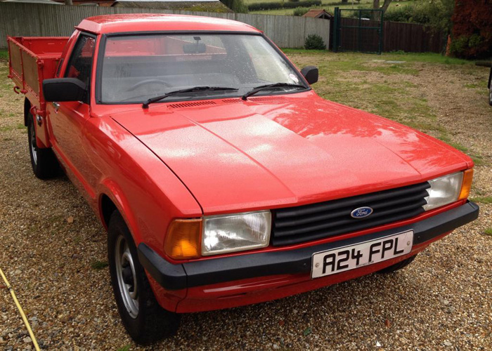 1984 Ford Cortina MK5 P100 1.6 Pickup 1