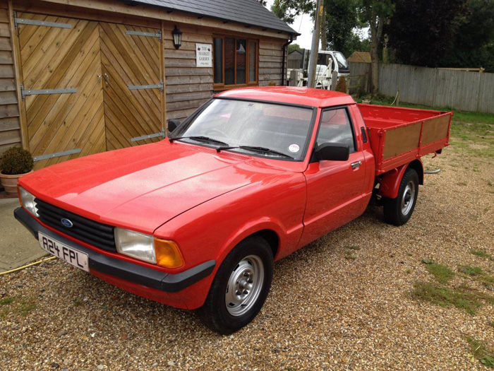 1984 Ford Cortina MK5 P100 1.6 Pickup 2