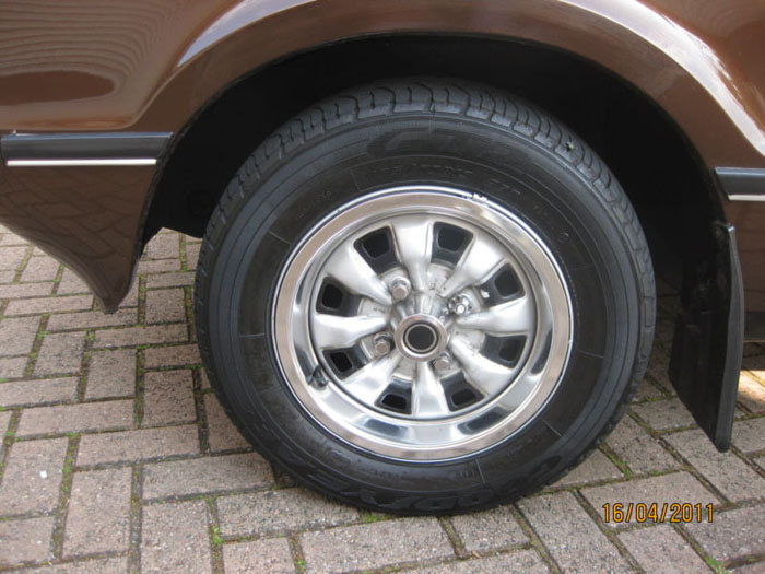 1978 ford cortina 2000 ghia mk4 wheel