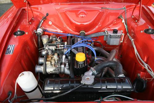 1966 Ford Cortina MK GT Engine Bay 1