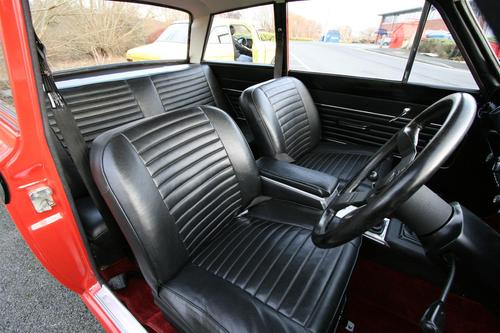1966 Ford Cortina MK GT Interior 2
