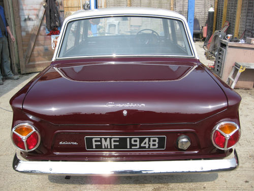 1964 Ford Cortina Mk1 Deluxe 1200 Back