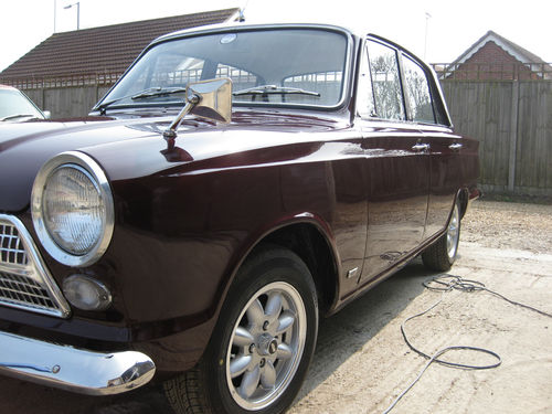 1964 Ford Cortina Mk1 Deluxe 1200 Left Side
