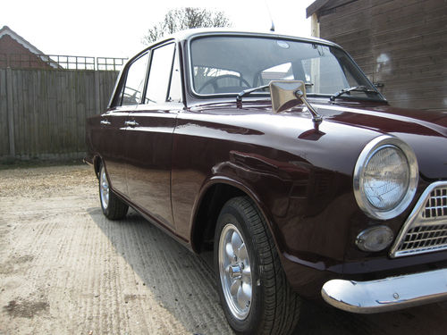 1964 Ford Cortina Mk1 Deluxe 1200 Right Side