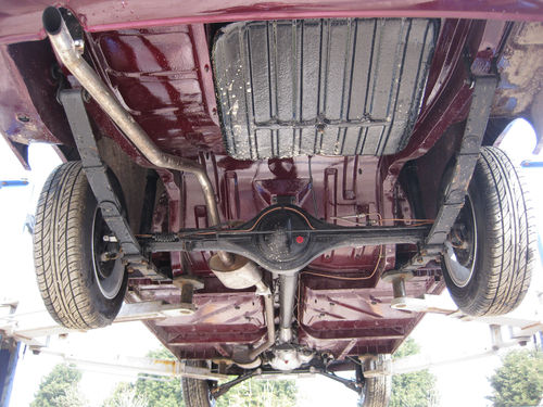 1964 Ford Cortina Mk1 Deluxe 1200 Underside