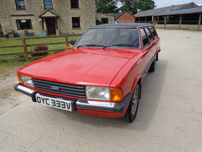 1980 Ford Cortina MK5 2.3 Ghia Estate 1