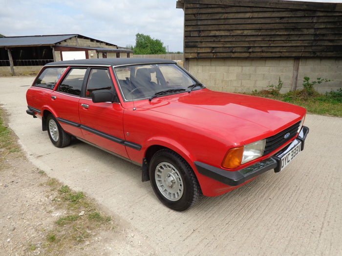 1980 Ford Cortina MK5 2.3 Ghia Estate 2