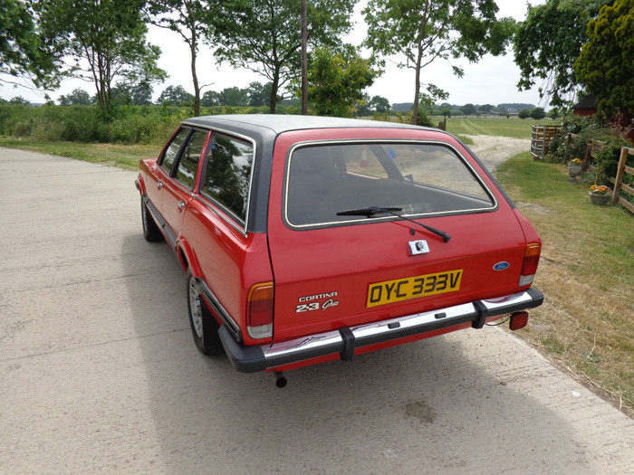 1980 Ford Cortina MK5 2.3 Ghia Estate 3