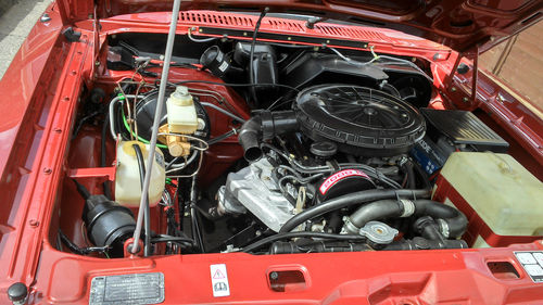1979 Ford Cortina MK5 Ghia S Engine Bay