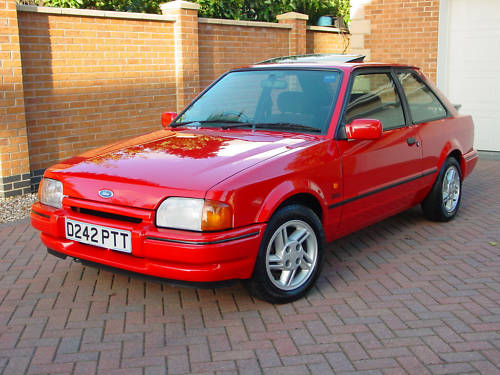 featured cars ford escort 1987 ford escort xr3i ref 143. Black Bedroom Furniture Sets. Home Design Ideas