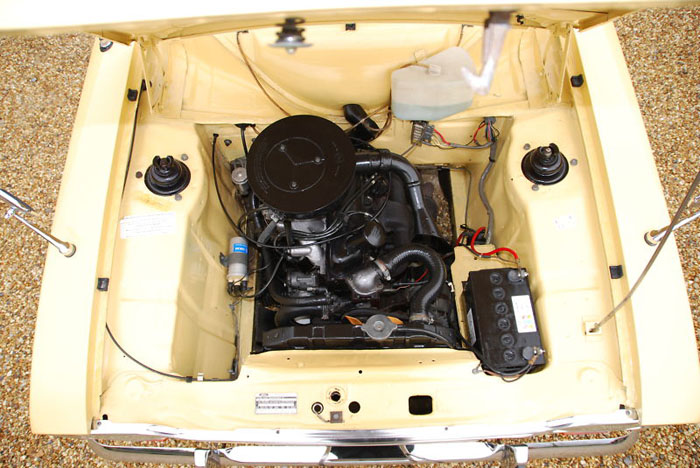 1974 ford escort mk1 1300xl 2 door engine bay