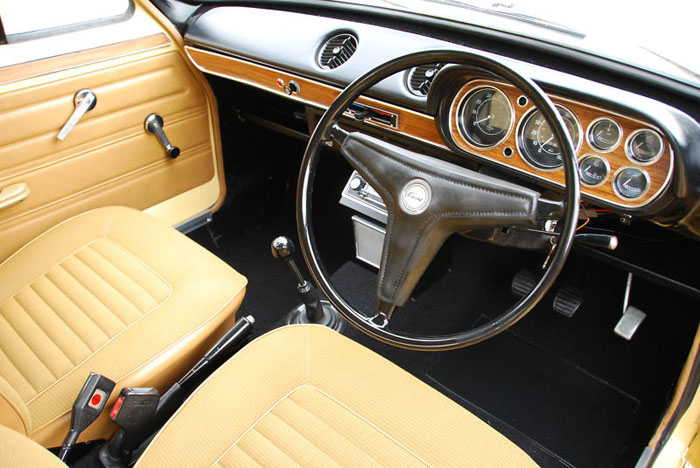 1974 ford escort mk1 1300xl 2 door interior 1