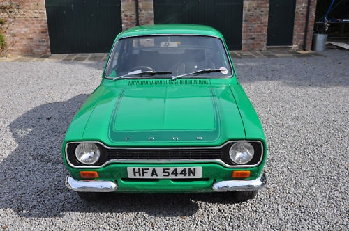 1975 ford escort rs 2000 green 2