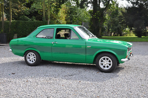 1975 ford escort rs 2000 green 3