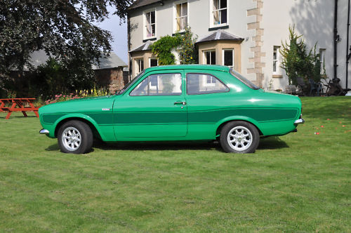 1975 ford escort rs 2000 green 4