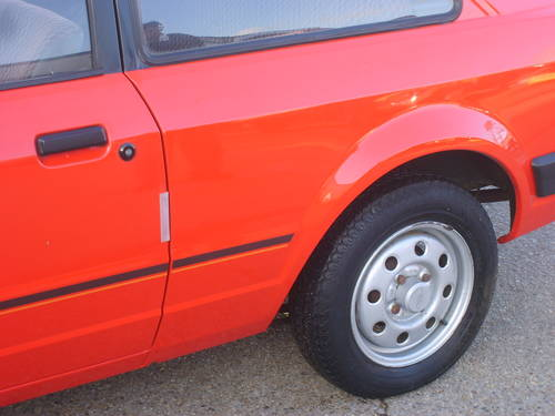 1981 ford escort mk3 1.1l wheel arch