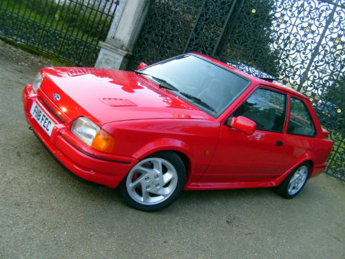 1989 ford escort 1.6 rs turbo 2