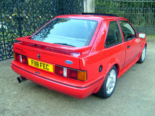 1989 ford escort 1.6 rs turbo 3