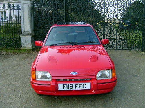 1989 ford escort 1.6 rs turbo front 1