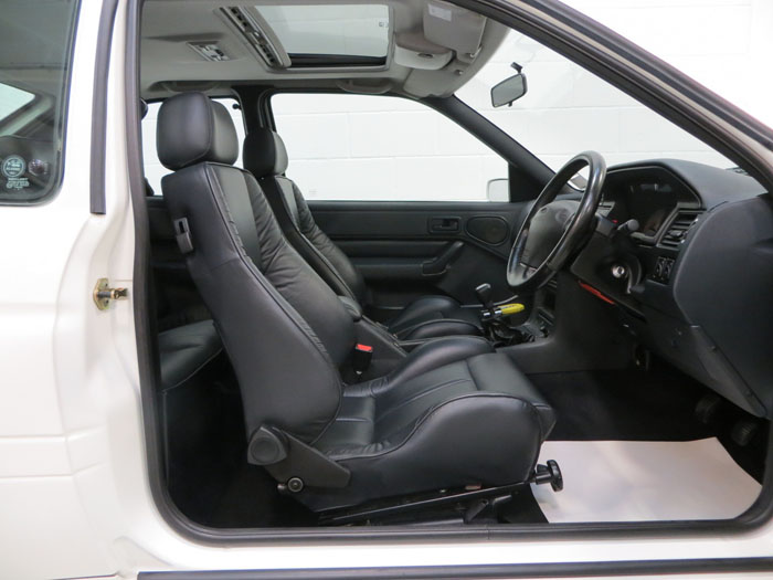 1995 ford escort rs cosworth interior 1