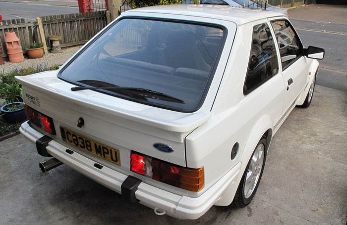 1986 Ford Escort RS Turbo S1 Back 2