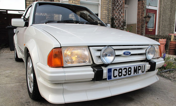 1986 Ford Escort RS Turbo S1 Front 1