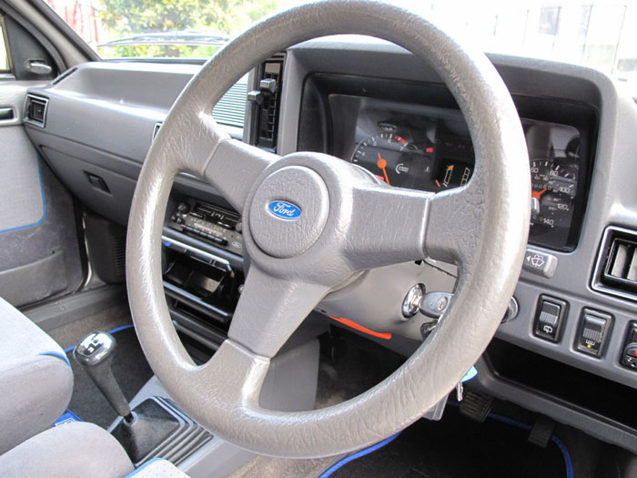 1986 Ford Escort RS Turbo S1 Steering Wheel Dashboard