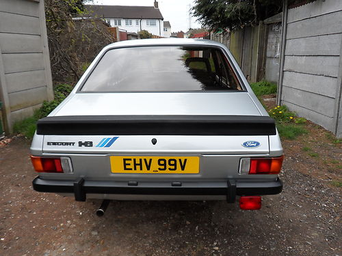 1980 Ford Escort Mk2 1600 Harrier Back