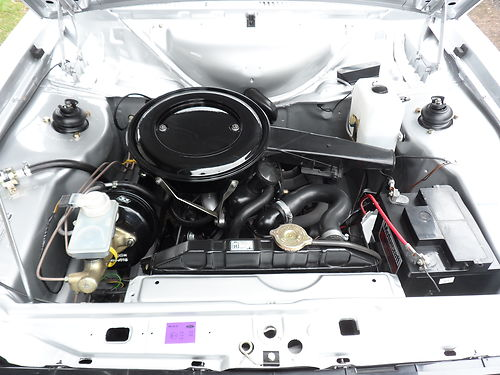 1980 Ford Escort Mk2 1600 Harrier Engine Bay