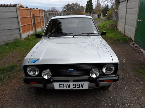 1980 Ford Escort Mk2 1600 Harrier Front
