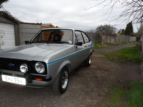 1980 Ford Escort Mk2 1600 Harrier Left Side