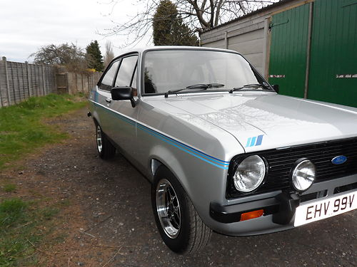 1980 Ford Escort Mk2 1600 Harrier Right Side