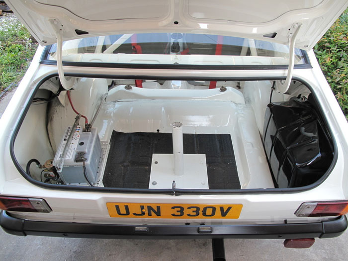 1979 Ford Escort Mk2 RS2000 Boot