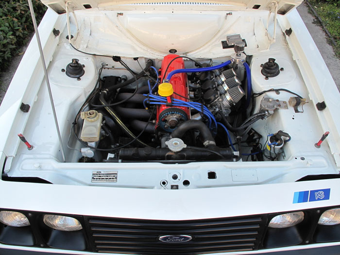 1979 Ford Escort Mk2 RS2000 Engine Bay