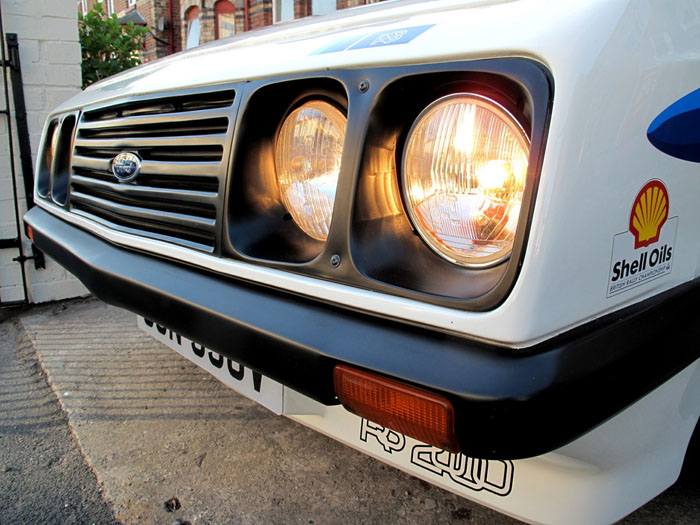1979 Ford Escort Mk2 RS2000 Front Lights Grill