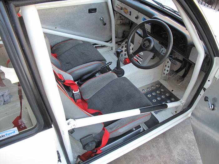 1979 Ford Escort Mk2 RS2000 Interior 2